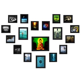 Swadesi Stuff Photo Frames Collage For Home Decor Set of 18