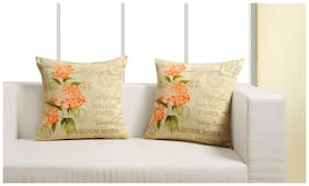 Swayam Assorted Canvas Cushion Cover Set of 2