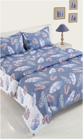 Swayam Cotton Abstract Double Size Bedding Set