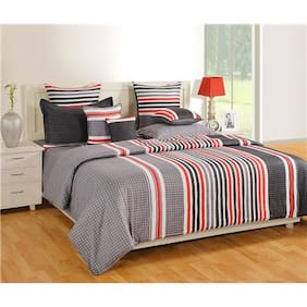 SWAYAM Grey   Bed in a Bag Set of 4