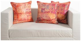 Swayam Love Theme Deco Cushion Cover Set of 2
