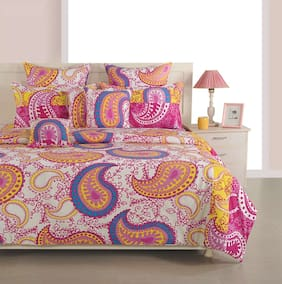 Swayam Cotton Printed Duvets Assorted Set of 1