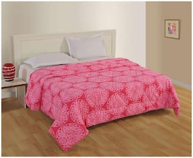 Swayam Pink Colour Big Boss Double Duvet Blanket