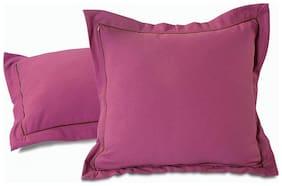 Swayam Plain Solid Cushion Cover Set of 5