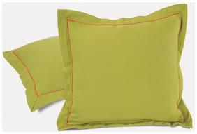 Swayam Plain Solid Cushion Cover Set of 2