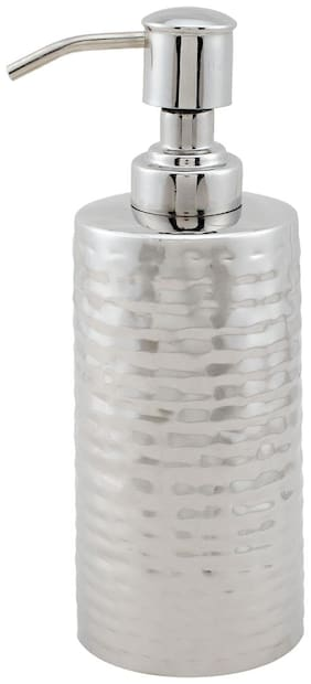 SWHF High Grade Stainless Steel Hammered Soap Dispenser and Soap Pump