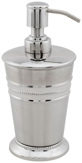 SWHF High Grade Stainless Steel Beeded Soap Dispenser and Soap Pump