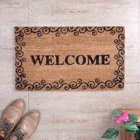 SWHF Outdoor Coir Mat Welcome