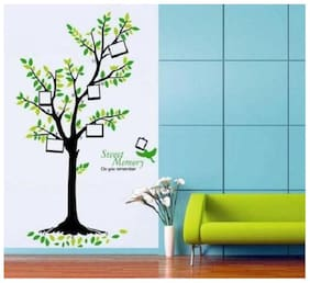 SYGA Printed Wall sticker ( Set of 1 )