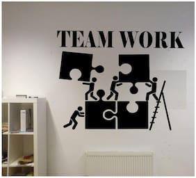 SYGA 'Team Work' PVC Vinyl Office Wall Sticker