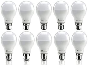 Syska 15 Watt Led Bulb White Light, Pack of 10