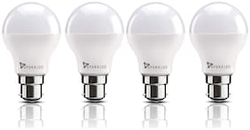 Syska 18 Watt Led Bulb White Light, Pack of 4
