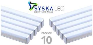 Syska 22w 4 Feet Led Tube Light Pack Of 10