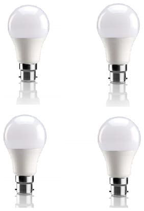 Syska 9 Watt Led Bulb (Pack Of 4 Bulb)
