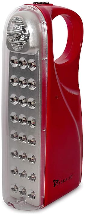 Syska Eml-2842 Emergency Rechargeable Led Light (Red)