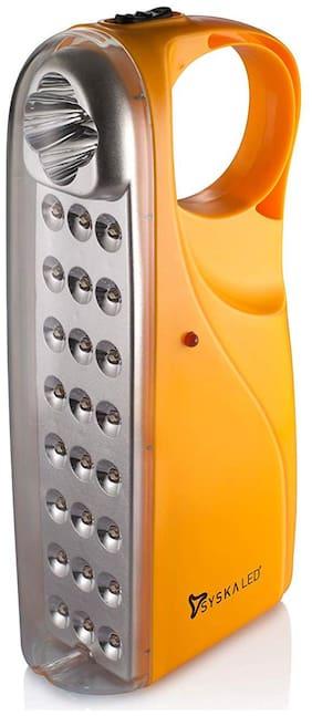 Syska Eml-2842 Emergency Rechargeable Led Light (Yellow)