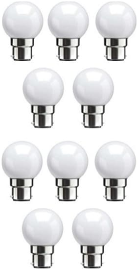 Syska Led Lights 0.5 W LED Bulb (White  Pack of 10)