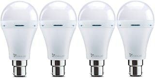 Syska Rechargeable 9W Emergency Bulb SSK-EMB-09 (Pack of 4)