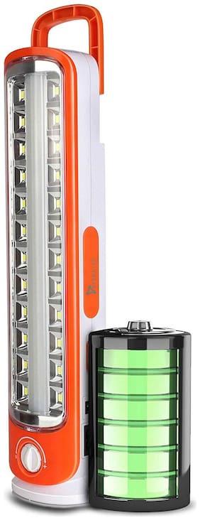 Syska Sparkle Rechargeable Emergency Led Lantern 12W (Red)