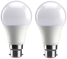 Syska SSK-PA Base B22 5-Watt LED Bulb (Pack of 2, Cool White)