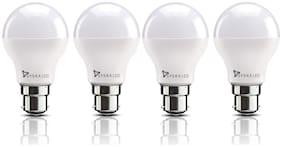 Syska SSK-SRL-3W B22 3-Watt LED Bulb (Pack of 4, Cool Day Light)
