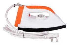 Tag9 Vic-11002 750 W Dry Iron (Orange/White)
