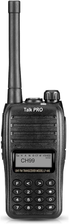 TalkPRO LF446 No Sim 10 Line Walkie Talkie ( Black )