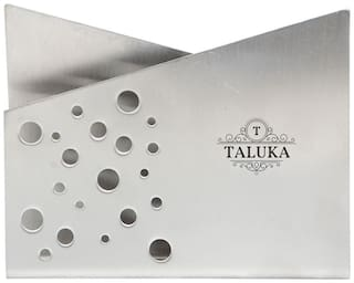 Taluka (22.09 cm (8.7 inch) x 7.92 cm ( 3.12 inch) approx ) Stainless Steel napkin Holder Home Use Hotel Bar Restaurant Gifting Purposes