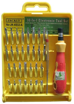 32-in-1 Pocket Screwdriver Tool Set Kit With Interchangeable Precise Magnetic Head