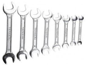 Taparia DEP 08 Taparia Double Ended Open Spanner Set Double Sided Open End Wrench (Set of 8)