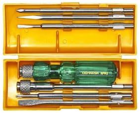 Taparia Taparia 840 Standard Screwdriver Set (Set of 6) Combination Screwdriver Set (Set of 6)