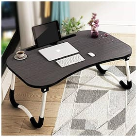 Tarkan Stud Foldable Wooden Mini Lapdesk for Couch;Sofa Bed;Study Tray Table Stand for Writing