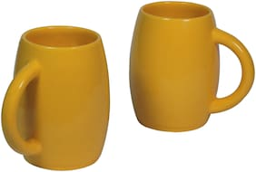 Tashveen Articles Ceramic Coffee Mugs Set of 2