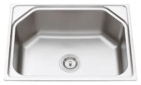 TAVISH Matte Finish 304 Stainless Steel Kitchen Sink (24 X 18 X 9-inch)
