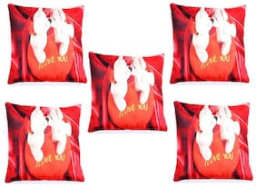 Teddy Kising Print  Cushion Cover For Love ones