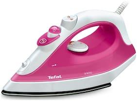 Tefal Inicio 1800-Watt Steam Iron (Pink & White)