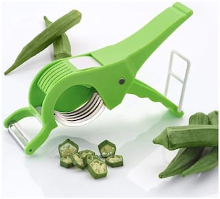 Teneza Multi Vegetable And Fruit Slicer Cutter With Peeler