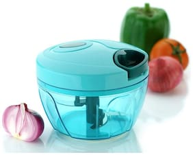Teneza Plastic Quick Cutter, Vegetable Cutter, Handy Chopper
