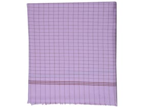 Texstylers 100% Cotton Checkered Soft Feel Ac Blanket(Pink)