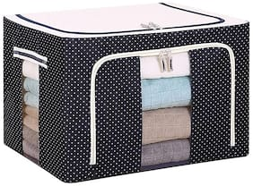 The Brand Store Storage Bag with 66 Litre Capacity & Foldable for Clothes, Bedsheet &  Blankets (Pack of 1) Assorted