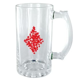The Crazy Me Diamond Clear Beer Mug