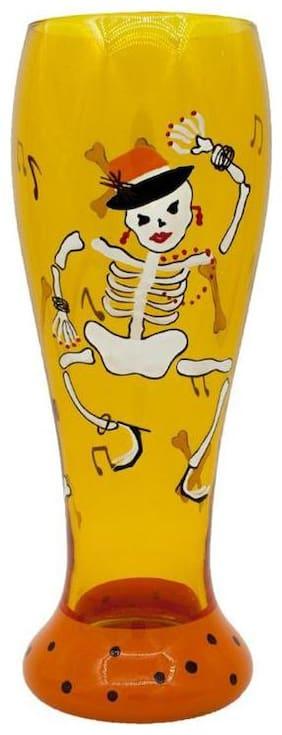 The Crazy Me Skeleteon Beer Glass