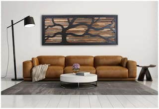 The New Look  Wooden Wall Art 24 Inches Long