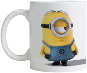 The Stuart Minion Printed Coffee Mug