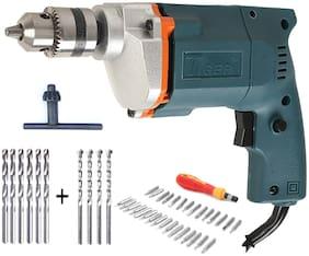 Tiger 10mm Drill machine with 31 Screwdriver Set + 6 HSS Bit+ 4 Masonry Bit
