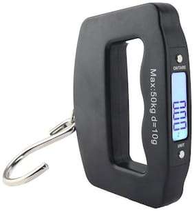 Tiny Deal 50kg Mini Weighing Hanging Luggage Electronic Scale