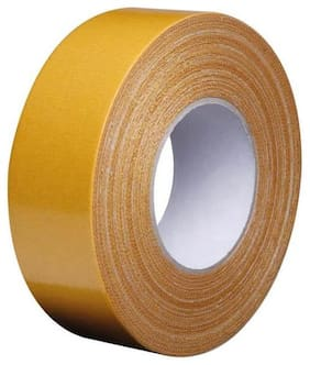 Tjikko Cloth Tape ;Cotton Tape Double Sided 24 mm width 20 meter length (Hair Wig) (Set of 1)