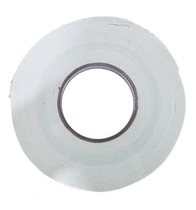 Tjikko Double Sided Gasket Tape 24mm width 2mm thick 10meter length White (Pack of 1)