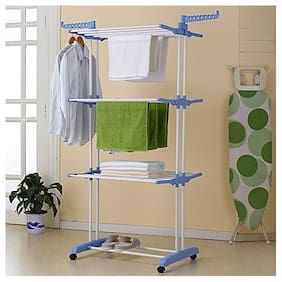 TNC Plastic Floor Cloth Dryer ( Blue ,Maximum Load: Upto 10kg kg )