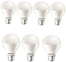 TopSoil 9 Watt B22 LED Bulb (Pack of 7)